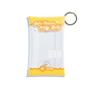 はいどのOshi-Kome Box(オレンジ)(TEST) Mini Clear Multipurpose Case
