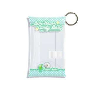 Oshi-Kome Box(クリームソーダ)(TEST) Mini Clear Multipurpose Case