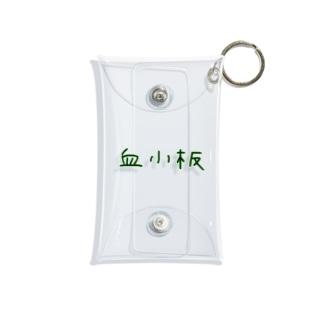 血小板‐アナザーフォント‐ Mini Clear Multipurpose Case