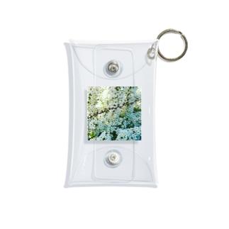 しろい花の陰にかくれて Mini Clear Multipurpose Case