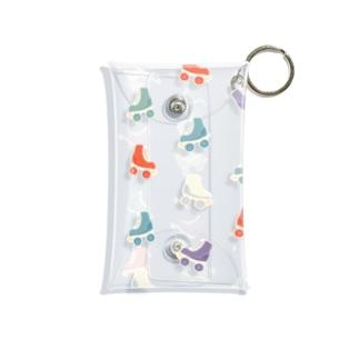 レトロ調ローラースケート(トウメイ) Mini Clear Multipurpose Case