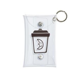 よるコーヒー(o˘◡˘o) Mini Clear Multipurpose Case