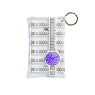 腕時計(藤巴紋) Mini Clear Multipurpose Case