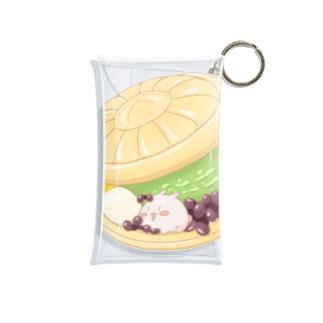 最中アイス まるまるつるっとしたうさぎ Mini Clear Multipurpose Case