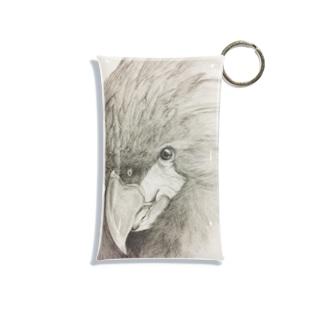 鳥が好きなんじゃ!(ヤシオウムバージョン) Mini Clear Multipurpose Case