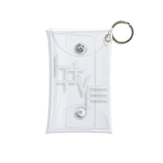 アクスタケース ペンライトLOVE white Mini Clear Multipurpose Case