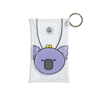 首からコアラ(ぶるー) Mini Clear Multipurpose Case