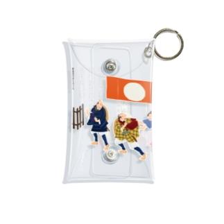 弥次喜多保土ヶ谷宿 Mini Clear Multipurpose Case
