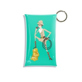 ゴールデン・アツコ Mini Clear Multipurpose Case