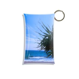 beachside Mini Clear Multipurpose Case