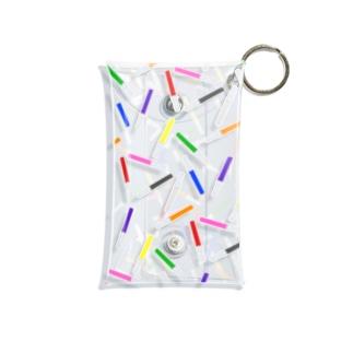 アクスタケース ペンライト ランダム9colors★ purple /pink /blue /red /yellow /green /orange /black /white Mini Clear Multipurpose Case