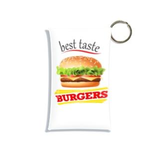 美味しいハンバーガー Mini Clear Multipurpose Case