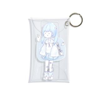 しぬたがーる Mini Clear Multipurpose Case
