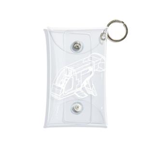 GUPPY(白) Mini Clear Multipurpose Case