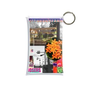 autumn anthem Mini Clear Multipurpose Case