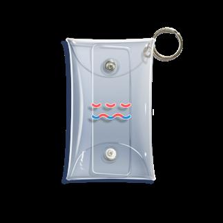 ssmijiのwave Mini Clear Multipurpose Case