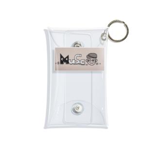 Music男子 Mini Clear Multipurpose Case