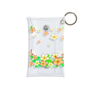 Lily bird(о´∀`о)の舞うプルメリア② Mini Clear Multipurpose Case