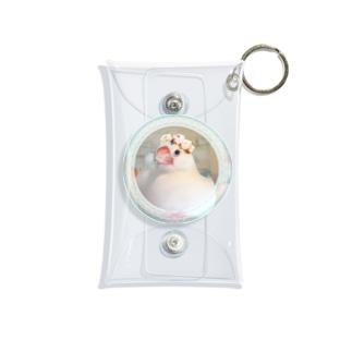 🌸花冠チッチ姫👑 Mini Clear Multipurpose Case