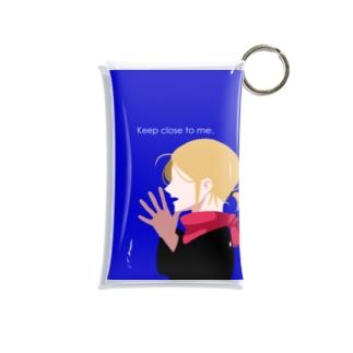 keep close to me Mini Clear Multipurpose Case