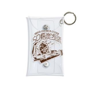 SD採炭方式~レトロ茶色~ Mini Clear Multipurpose Case