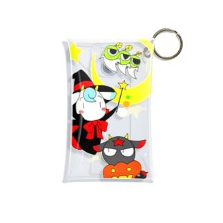 POISONCHARM電脳露店2号のアオヤギミヤギハロウィン Mini Clear Multipurpose Case