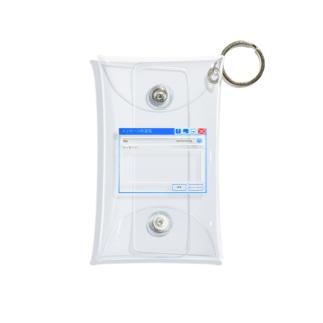 透明メッセージ Mini Clear Multipurpose Case
