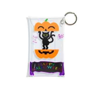 かぼちゃねこ🎃2020 Mini Clear Multipurpose Case