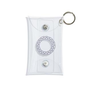 Dominant Yumeno logo 背景透過Ver Mini Clear Multipurpose Case