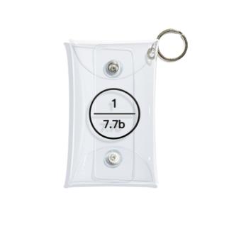7.7bの7.7b Mini Clear Multipurpose Case