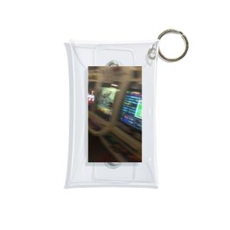 ラリった日のゲーセン Mini Clear Multipurpose Case