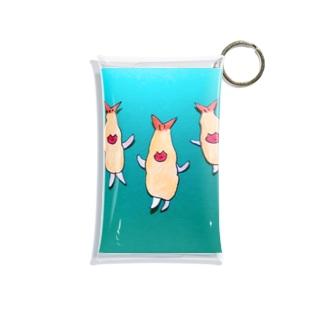 エビフライの妖精フラちゃん・ミドリ Mini Clear Multipurpose Case