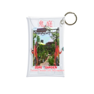鬼庭~Ogre Garden~ Mini Clear Multipurpose Case