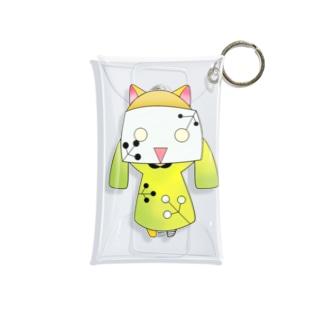 楽ちゃん 緑ver Mini Clear Multipurpose Case