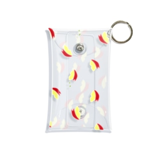 りんごうさぎ Mini Clear Multipurpose Case