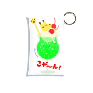 こや〜ん!ソーダ Mini Clear Multipurpose Case
