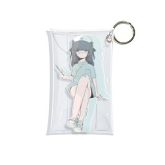 チャイナ〜ス Mini Clear Multipurpose Case