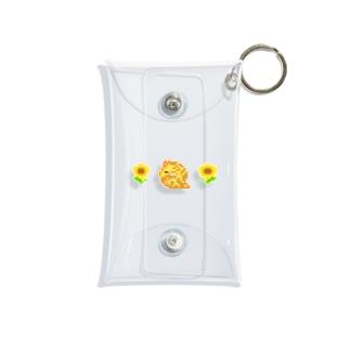 きりんとひまわり🌻 Mini Clear Multipurpose Case