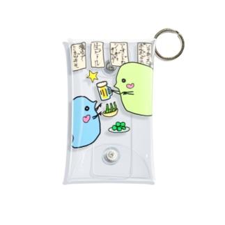 みじんこ飲み会 Mini Clear Multipurpose Case