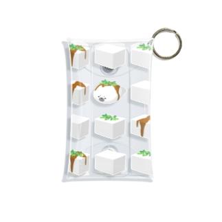 あざらしやっこ Mini Clear Multipurpose Case