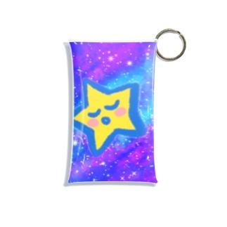 宇宙の中のお星ちゃん Mini Clear Multipurpose Case