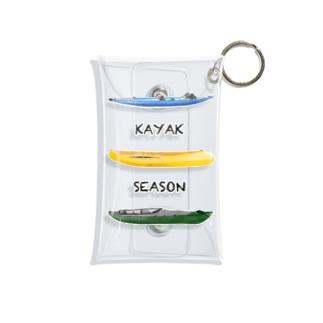 KAYAK SEASON Mini Clear Multipurpose Case