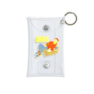 へとへとさん Mini Clear Multipurpose Case