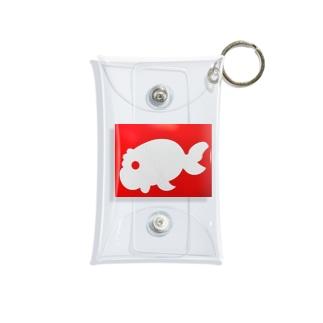 金魚一道オリジナル Mini Clear Multipurpose Case