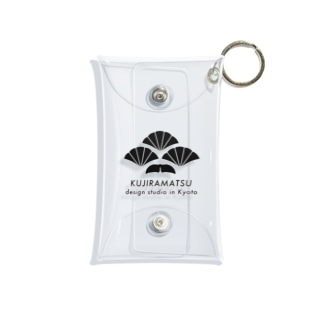 KUJIRAMATSU LOGO Mini Clear Multipurpose Case