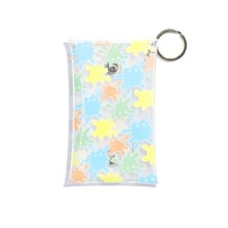 絵の具ちゃん Mini Clear Multipurpose Case