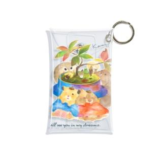 【KAMAP】小さな釜めしの木の下で Mini Clear Multipurpose Case