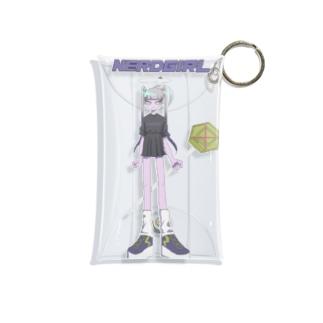 インターネットやめろ(紫ロゴ) Mini Clear Multipurpose Case