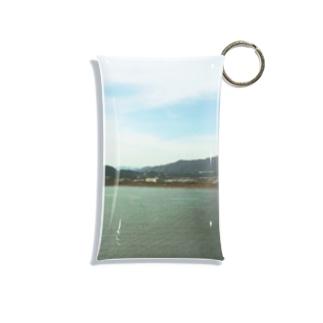 なんでもない田舎の風景「ある日の海」 Mini Clear Multipurpose Case