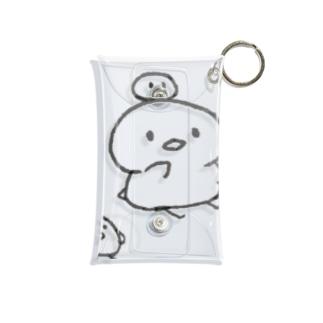 ぬくとん&ひよこ Mini Clear Multipurpose Case